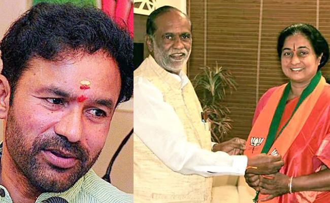 Padmini Reddy BJP Sympathiser, Says Kishan Reddy - Sakshi