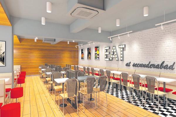 IRCTC Food Courts on Platforms - Sakshi