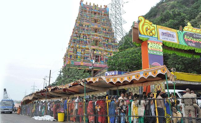 Vijayawada Durga Temple EO Says No VIP Darshan On 14th October - Sakshi