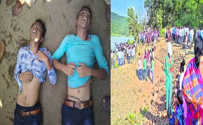 Brothers Died In The Project Adilabad - Sakshi