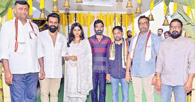 Sai Dharam Tej Chitralahari Movie Launch - Sakshi
