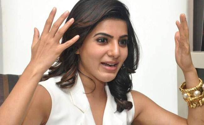 Samantha In A Mythological Role Soorpanaka - Sakshi