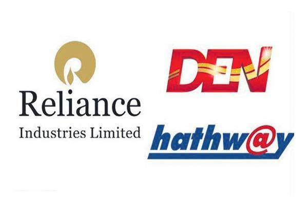 Reliance to buy majority stakes in Den Networks, Hathway Cable for Rs 5,230 crore - Sakshi