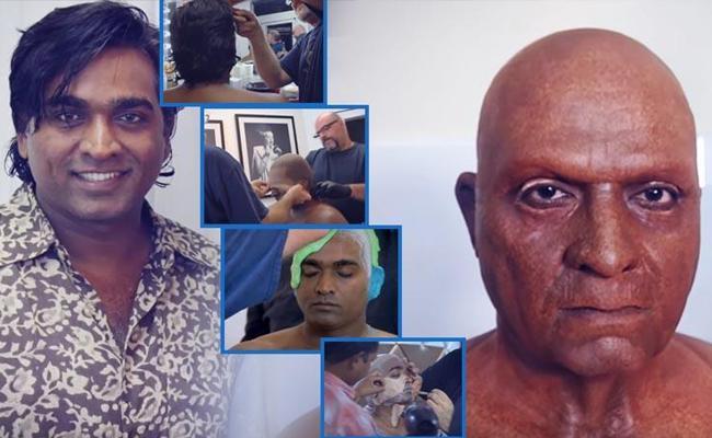 Seethakaathi Making Video of Vijay Sethupathi Look - Sakshi