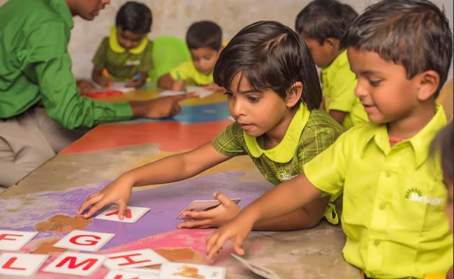 UK Govt Report Bridge Schools Achieved Learning Equity Among Underpriviliged Communities - Sakshi