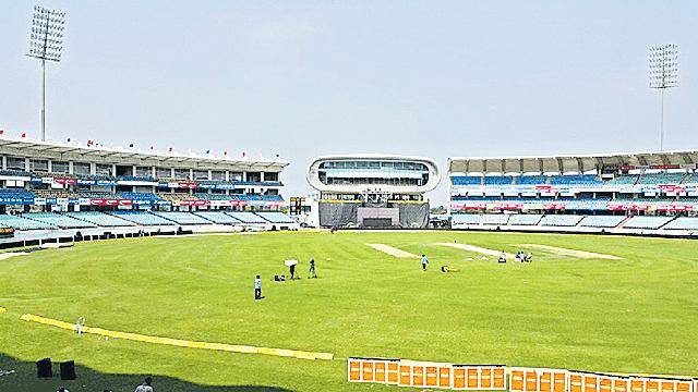 BCCI airdrops curators at Rajkot, Saurashtra Cricket Association - Sakshi