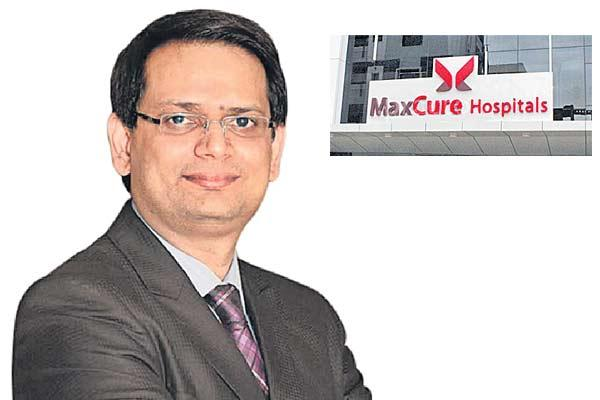 Maxcure hospitals in the expansion track  - Sakshi