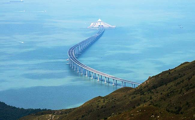 Xi Jinping Opens Mega Sea Bridge In China - Sakshi