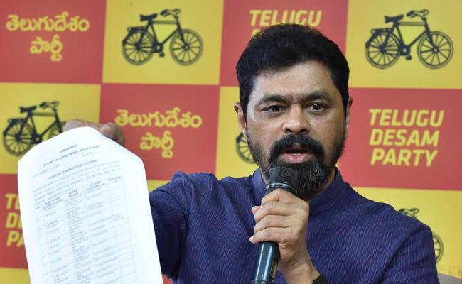 TDP MP CM Ramesh Financial Fraud With Edco Private Limited - Sakshi