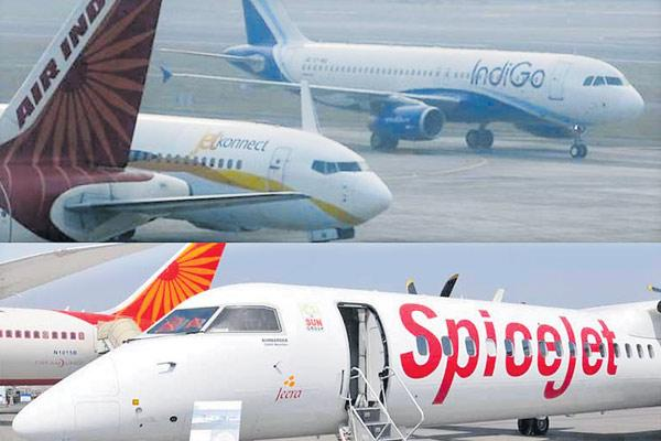 IndiGo, SpiceJet, Jet Airways face credit rating revisions as costs spiral - Sakshi