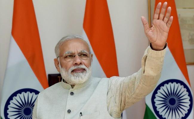 PM Narendra Modi Conferred With The Seoul Peace Prize 2018 - Sakshi