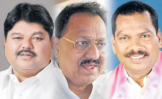 Rebellion TRS leaders Join In Congress - Sakshi