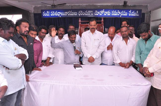 Guntur YSRCP Leaders Pray For YS Jagan Health - Sakshi