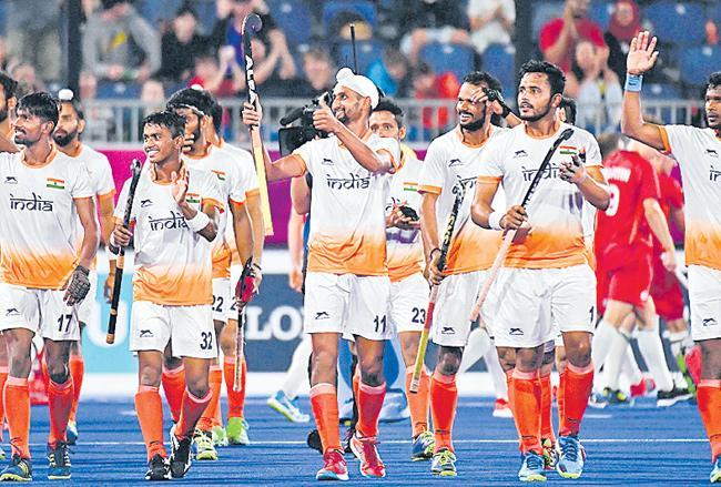 Asian Hockey Championship 2018:India beat Japan 3-2 in semifinal - Sakshi