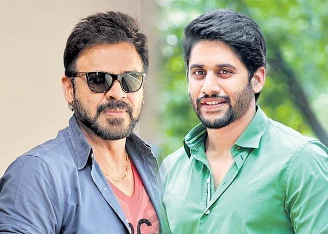 Venkatesh-Naga Chaitanya film to be titled 'Venky Mama' - Sakshi