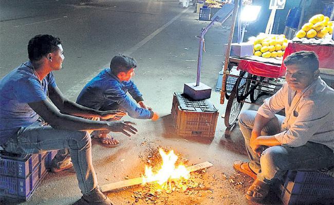 Winter Cold Started in Telangana - Sakshi