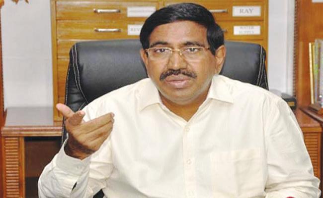 TDP Leaders Disagreement With Misnister narayana - Sakshi