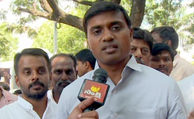 Why Chandrababu Govt Fearing to Third Party Enquiry, Quetions Mithun Reddy - Sakshi