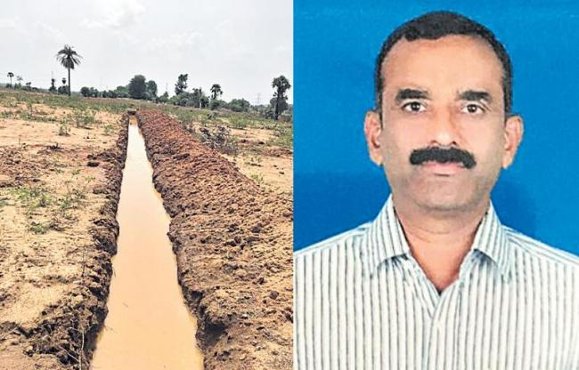 Plenty of water in the trenches - Sakshi