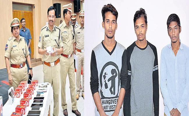 Online Shopping Without OTP Frauds Arrest in Hyderabad - Sakshi