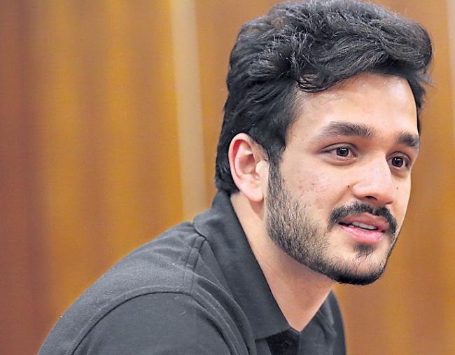 Akhil Akkineni's 'Mr Majnu' Talkie Part Completed - Sakshi