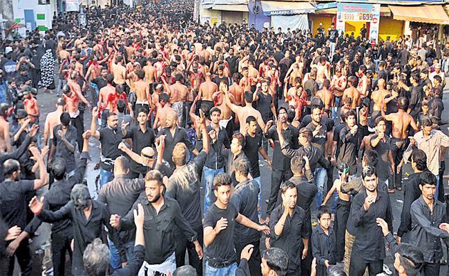 Arbaim Rally In Old City Hyderabad - Sakshi