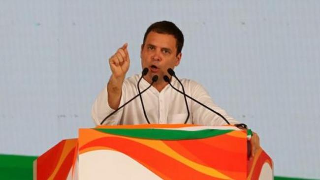 Rahul Says Systematic Destruction Of Indias Institutions Nothing Short Of Treason   - Sakshi