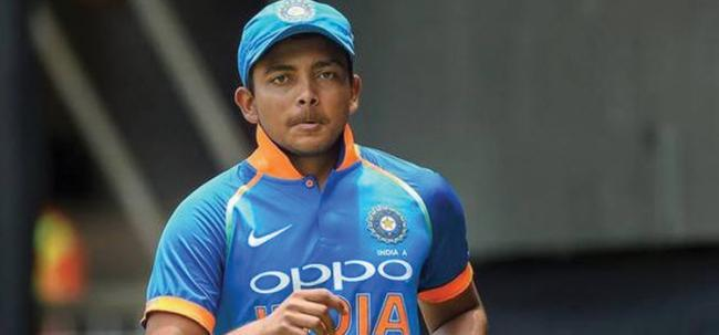 Special story to cricketer Prithvi Shaw - Sakshi