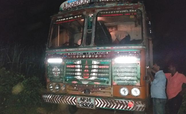 Midnight Sand Smuggling In Krishna - Sakshi