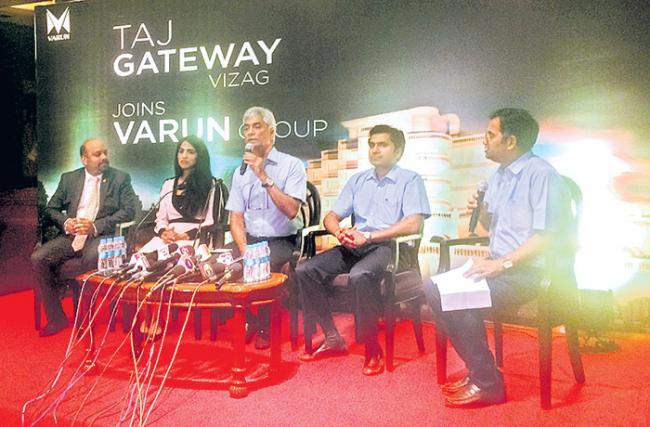 Varun group buys Taj Gateway Hotel - Sakshi
