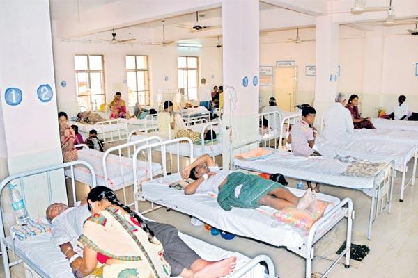 Viral fevers in the state - Sakshi