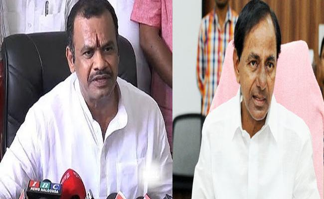 Komatireddy Venkat Reddy Critics On KCR Over Comments On Mahakutami - Sakshi