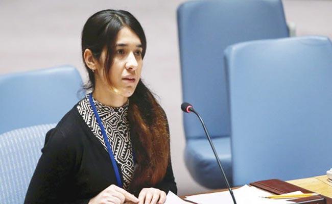 Nadia Murad Once ISIS Slave Now Nobel Laureate - Sakshi