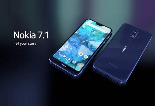 Nokia 7.1 launched with Android One - Sakshi