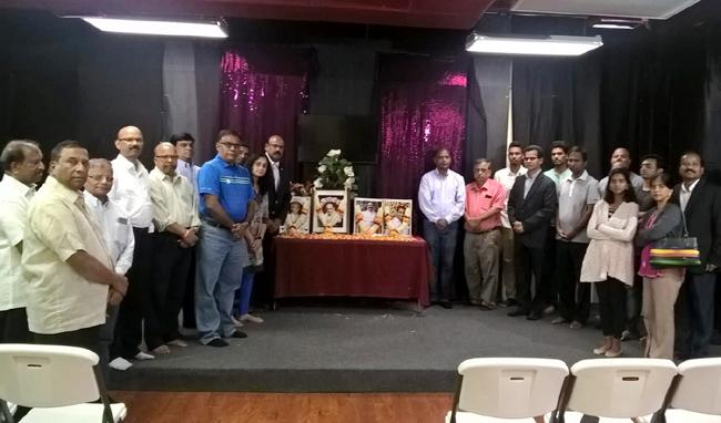 Gitam MVVS Murthy Condolence meeting held in Dallas - Sakshi