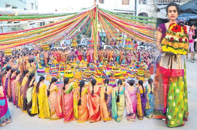 From Tuesday on bathukamma sambaralu - Sakshi