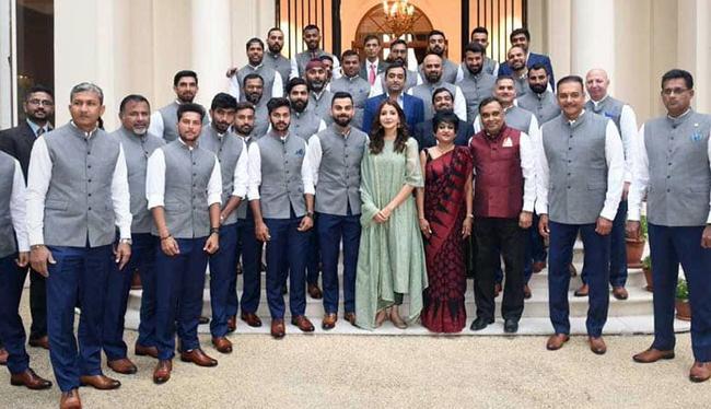 No Decision Yet On Virat Kohlis Request To Allow Wives On Overseas Tours - Sakshi