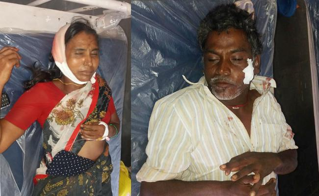 Attempt To Murder on Uncle And Aunty In Anantapur - Sakshi