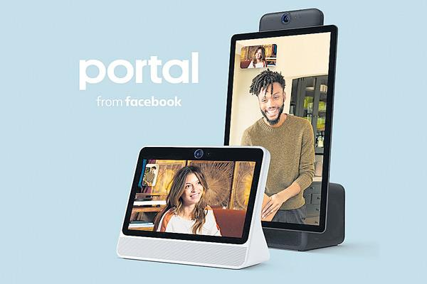 Facebook Portal video chat screens raise privacy concerns - Sakshi
