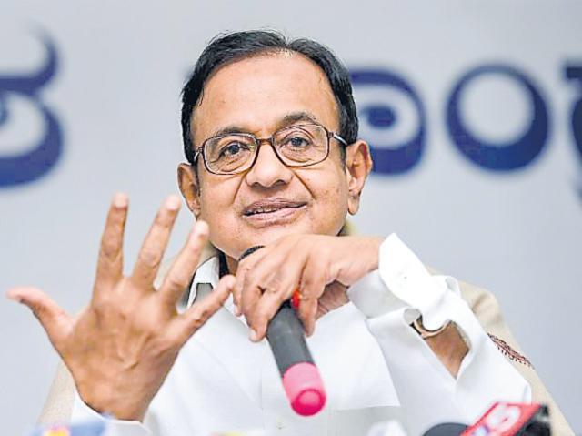 Centre Desperate, Hiding Facts On Economy, Says P Chidambaram - Sakshi