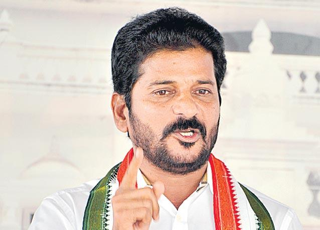 revanth reddy complaint to election commission - Sakshi