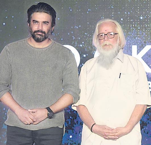 R Madhavan's ISRO Scientist Biopic Project , 'Rocketry - Sakshi