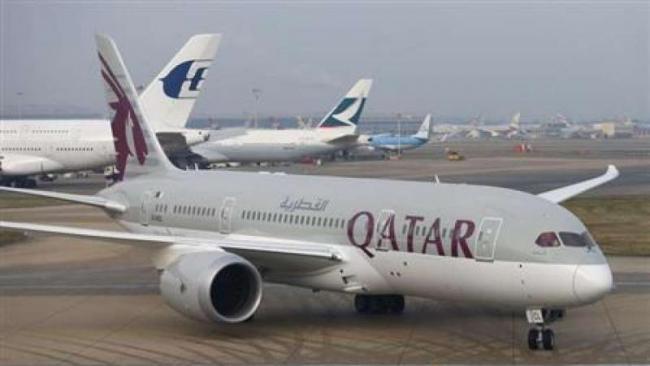 Water Tanker Hits Qatar Airways Aircraft At Kolkata Airport - Sakshi