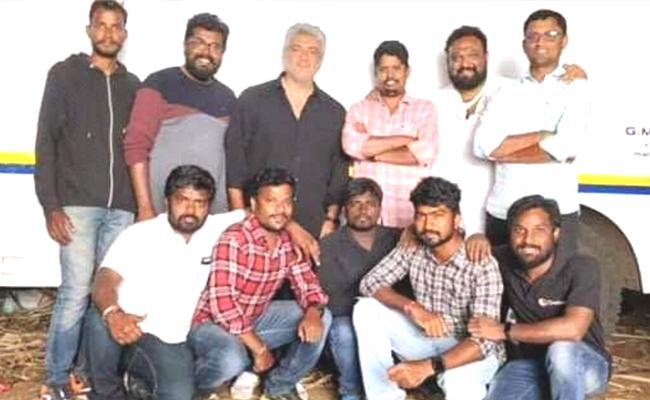 Ajith Kumar Viswasam Shooting Wrapped Up - Sakshi