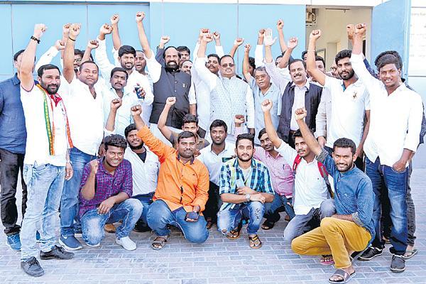 Uttam kumar reddy on Ensuring creation of 'Gulf Corporation' - Sakshi