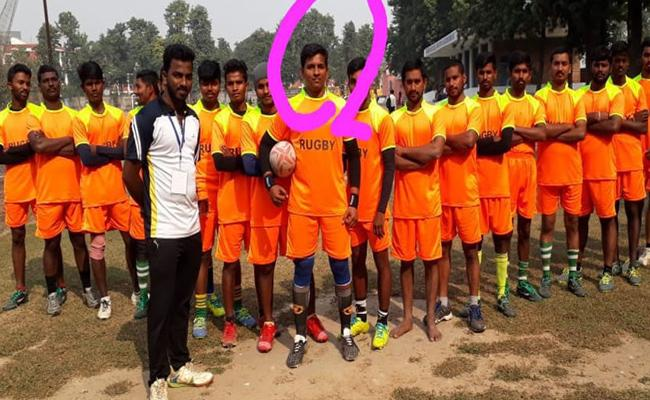 Special Story Rugby football Player Mahendra Reddy - Sakshi