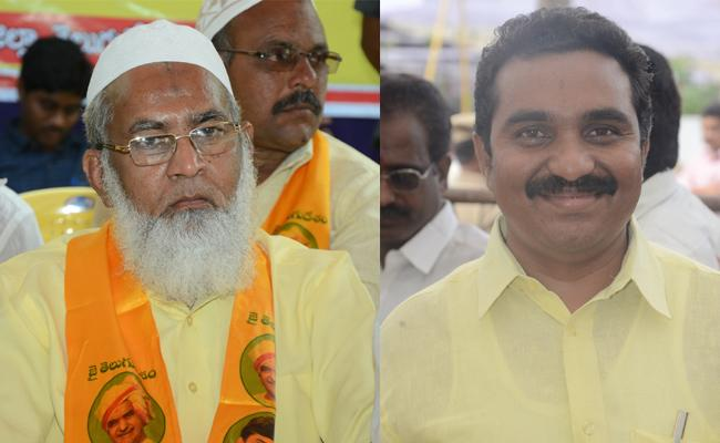 tdp minorty shareef gets council chairman post - Sakshi