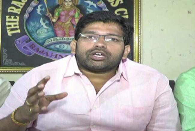 Jakkampudi Raja Fire On Chandrababu Naidu - Sakshi