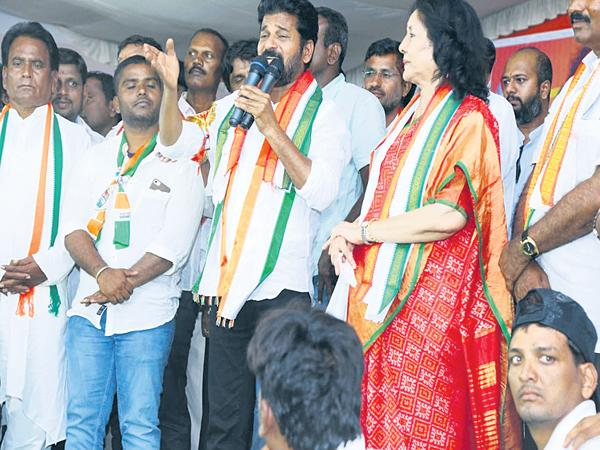 Revanth Reddy Fires On KCR And Modi Govt - Sakshi