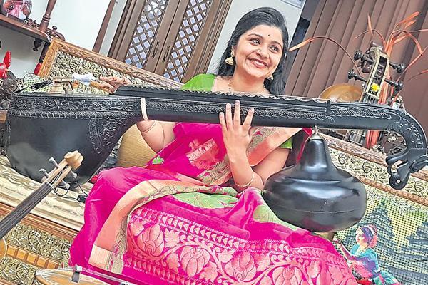 Story about musician Veena Srivani  - Sakshi